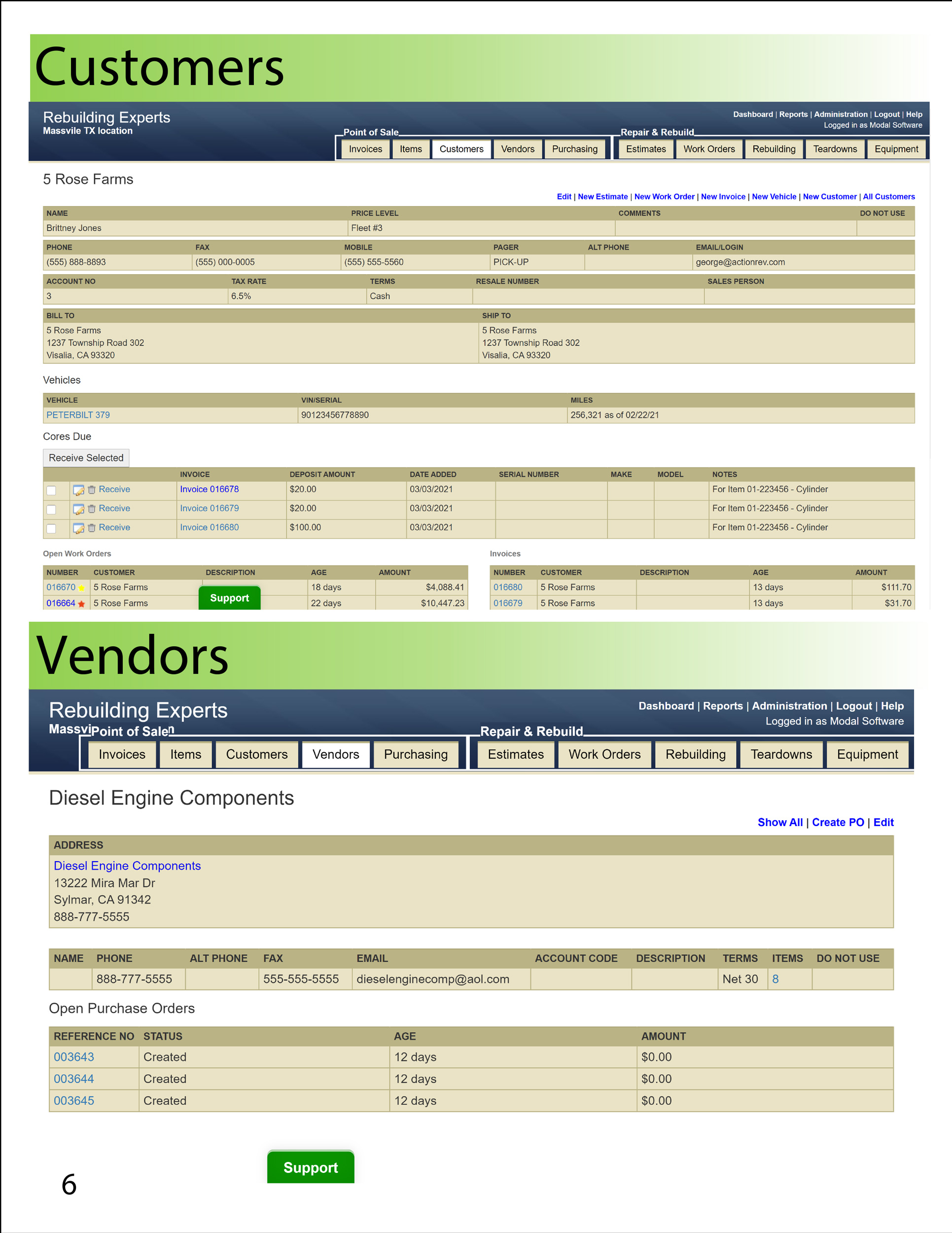 Actionrev Brochure Customers Vendors