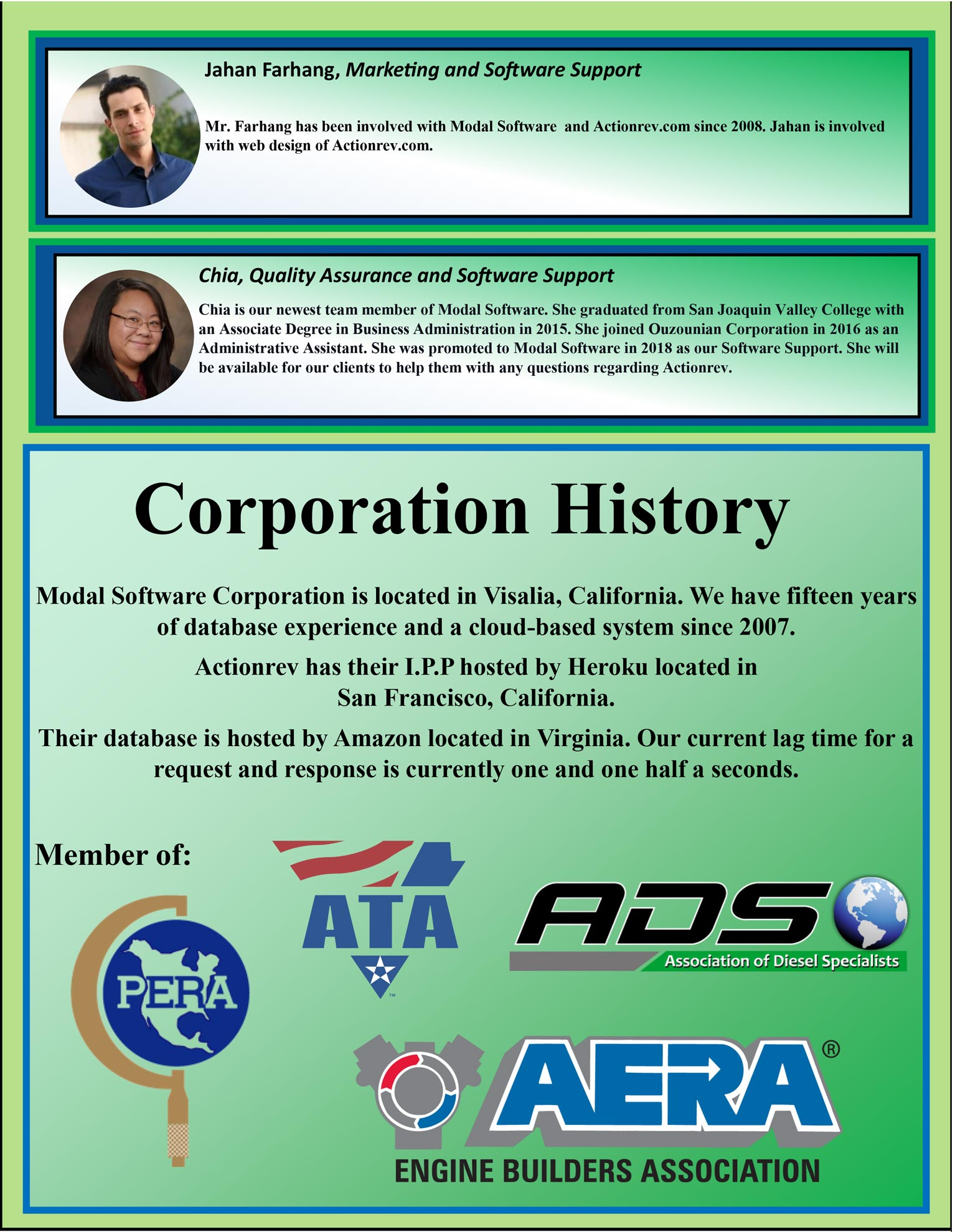 Actionrev Brochure Corporation History